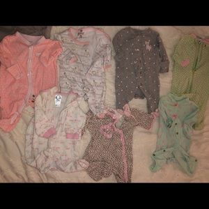 Collection of Newborn Sleepers